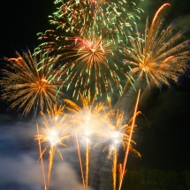 183831,03 Международный фестиваль фейерверков Навальніца открылся в Логойске